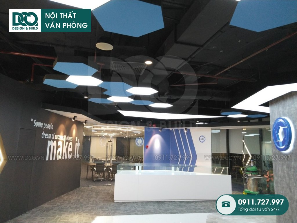 So sánh thiết kế nội thất Coworking Space