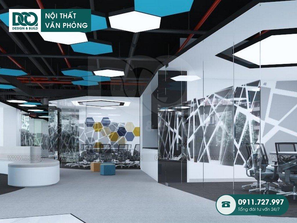 So sánh thiết kế nội thất Coworking Sapce 3D