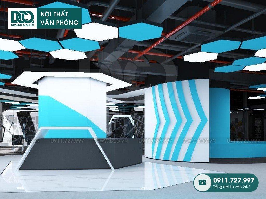 So sánh thiết kế nội thất Coworking Space thực tế