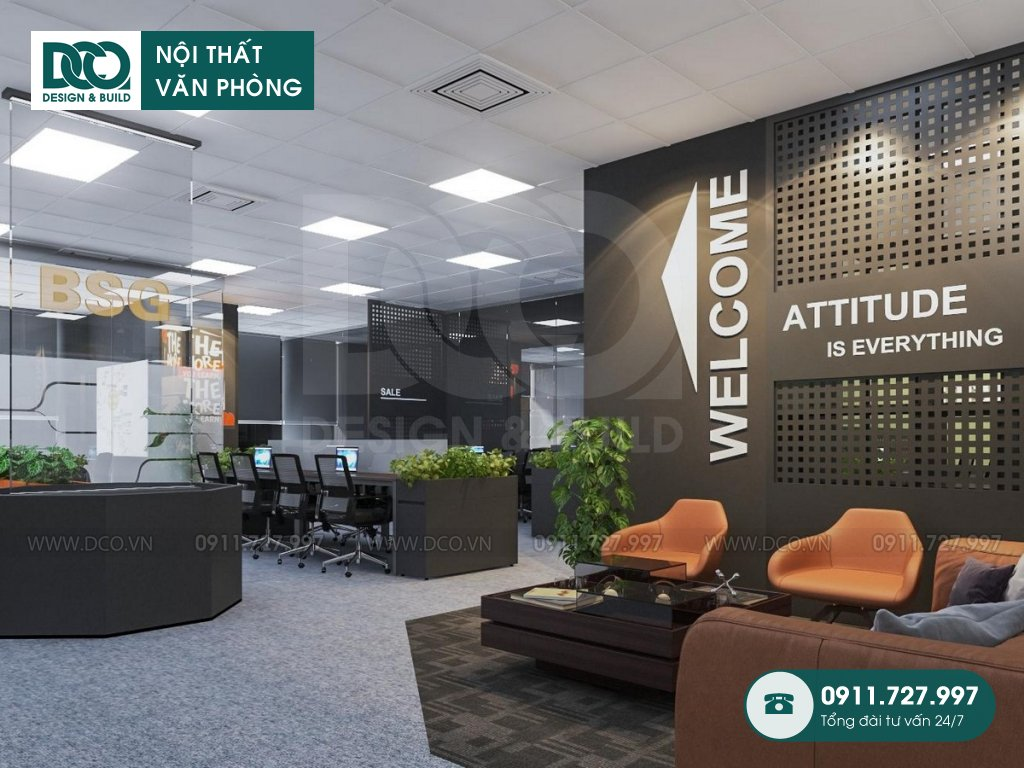 Công ty thiết kế nội thất Coworking Space