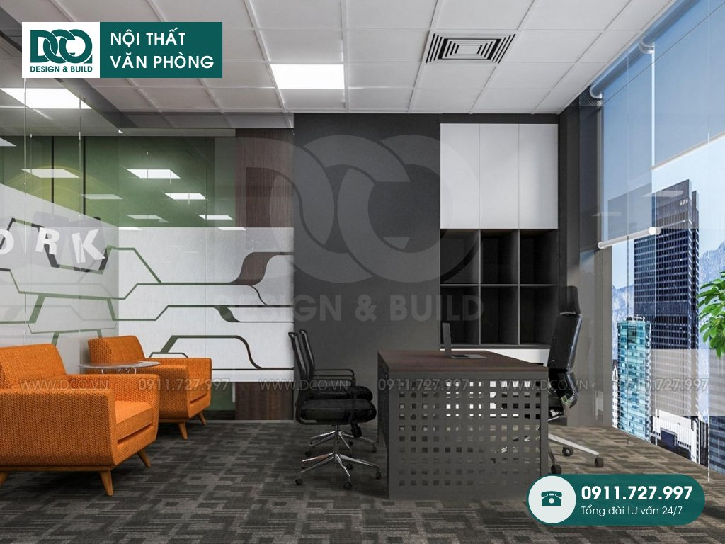 Thiết kế nội thất Coworking Space cao cấp