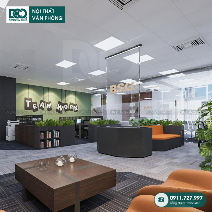 Dịch vụ thiết kế nội thất Coworking Space