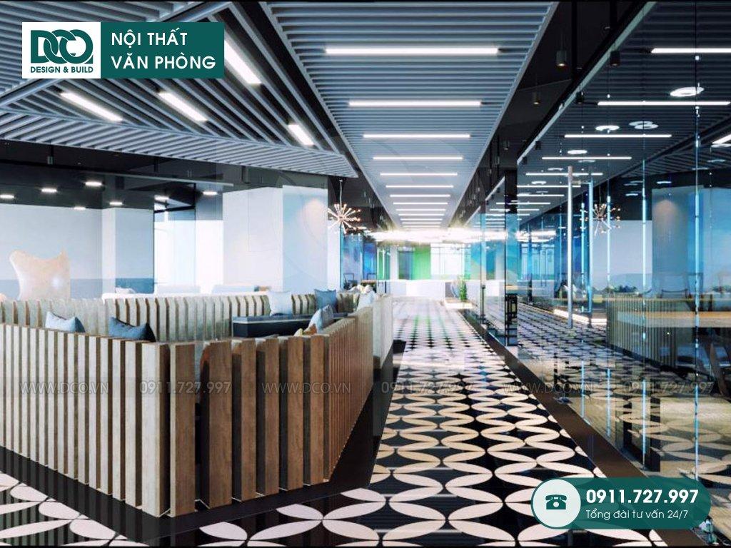 Hình ảnh thiết kế nội thất Coworking Space Kim Khí Thăng Long (1)