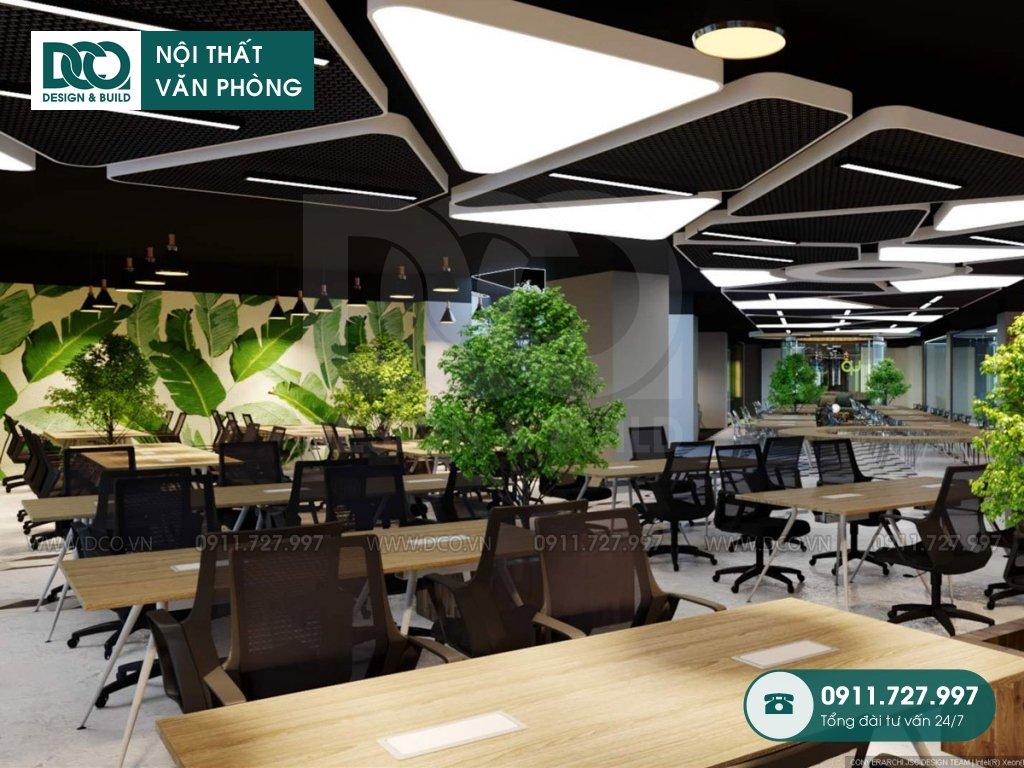 Hình ảnh thiết kế nội thất Coworking Space Kim Khí Thăng Long (7)