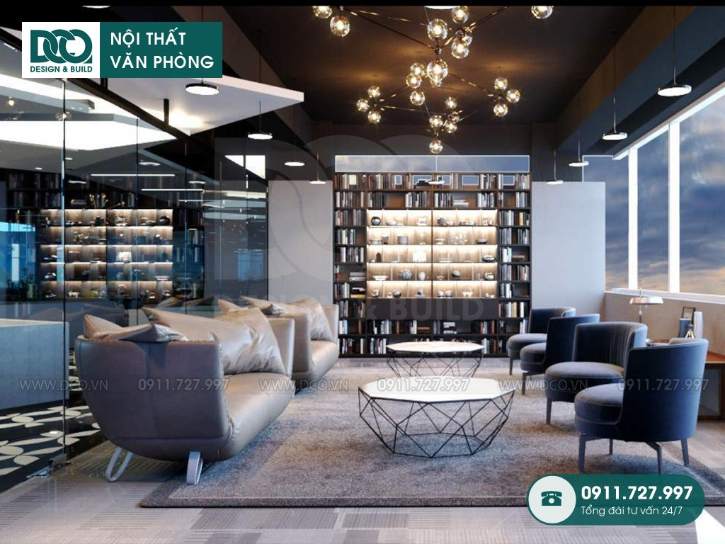 Hình ảnh thiết kế nội thất Coworking Space Kim Khí Thăng Long (9)