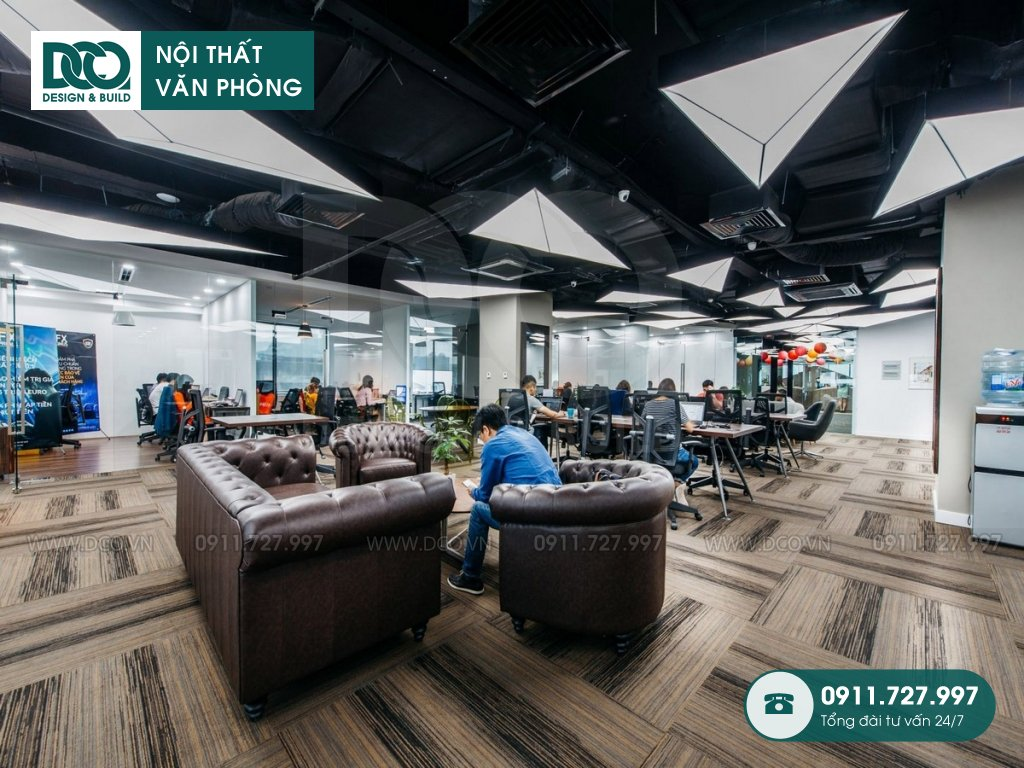Thiết kế nội thất Coworking Space