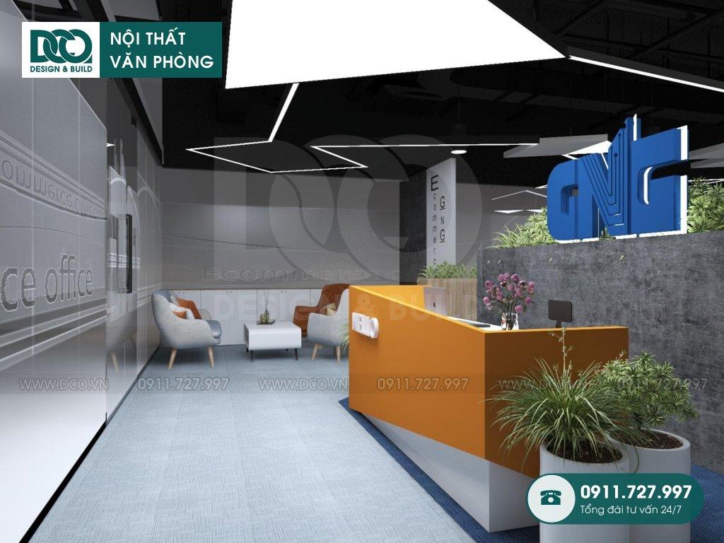 Thiết kế nội thất Coworking Space giá rẻ