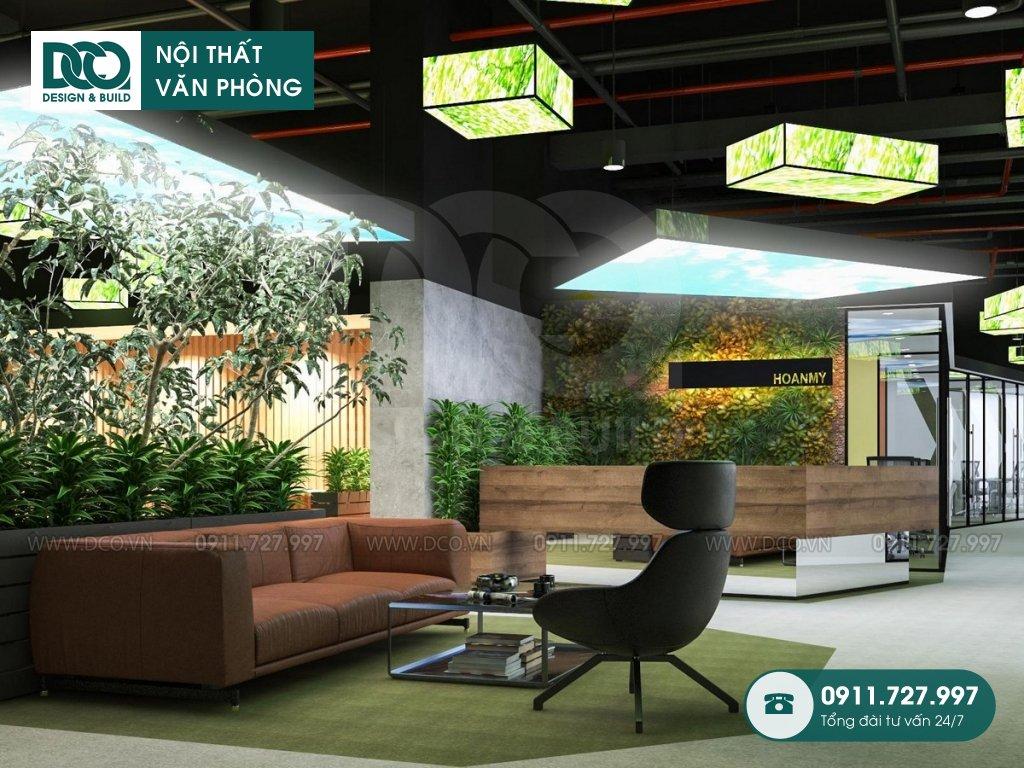 Ý tưởng thiết kế nội thất Coworking Space