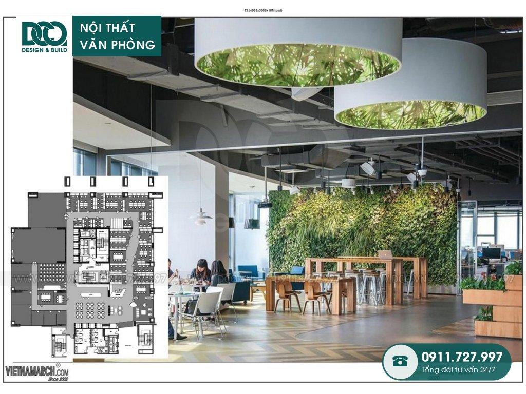 Ý tưởng thiết kế nội thất Coworking Space Hà Nội