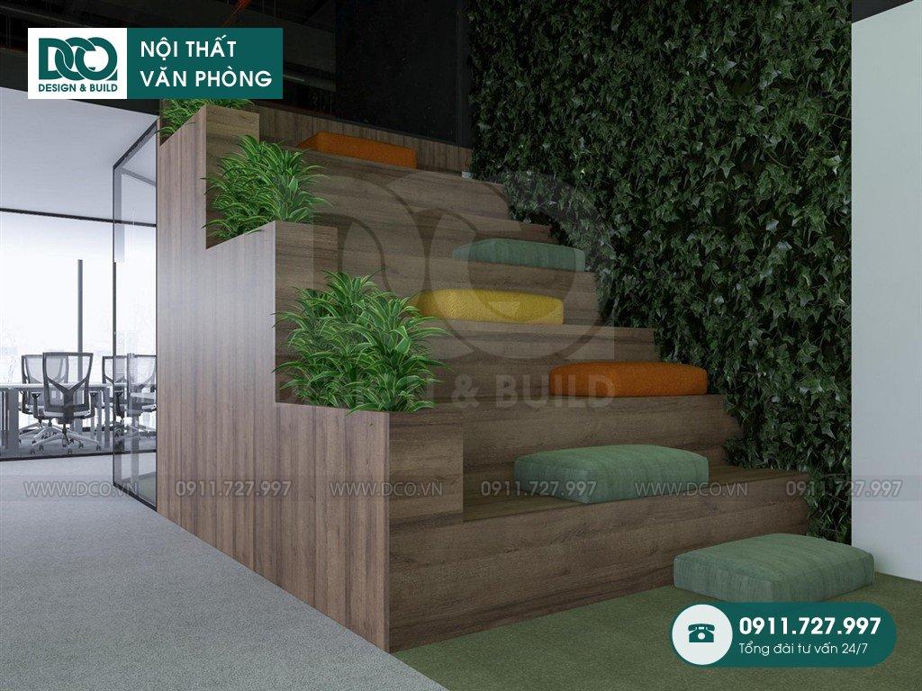 Bản vẽ cải tạo nội thất khu khách chờ tại Hà Nội