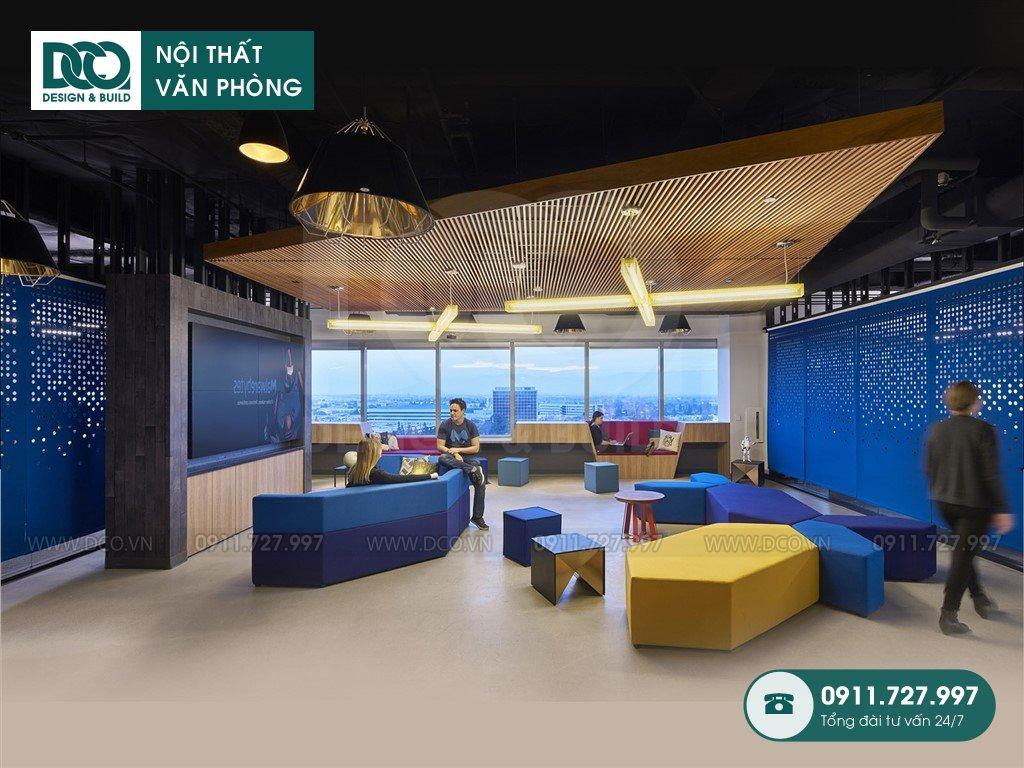 Hồ sơ bản vẽ cải tạo nội thất sảnh Lounge