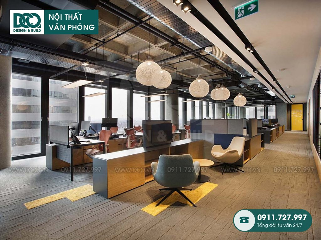 Bảng báo giá cải tạo nội thất không gian làm việc chung
