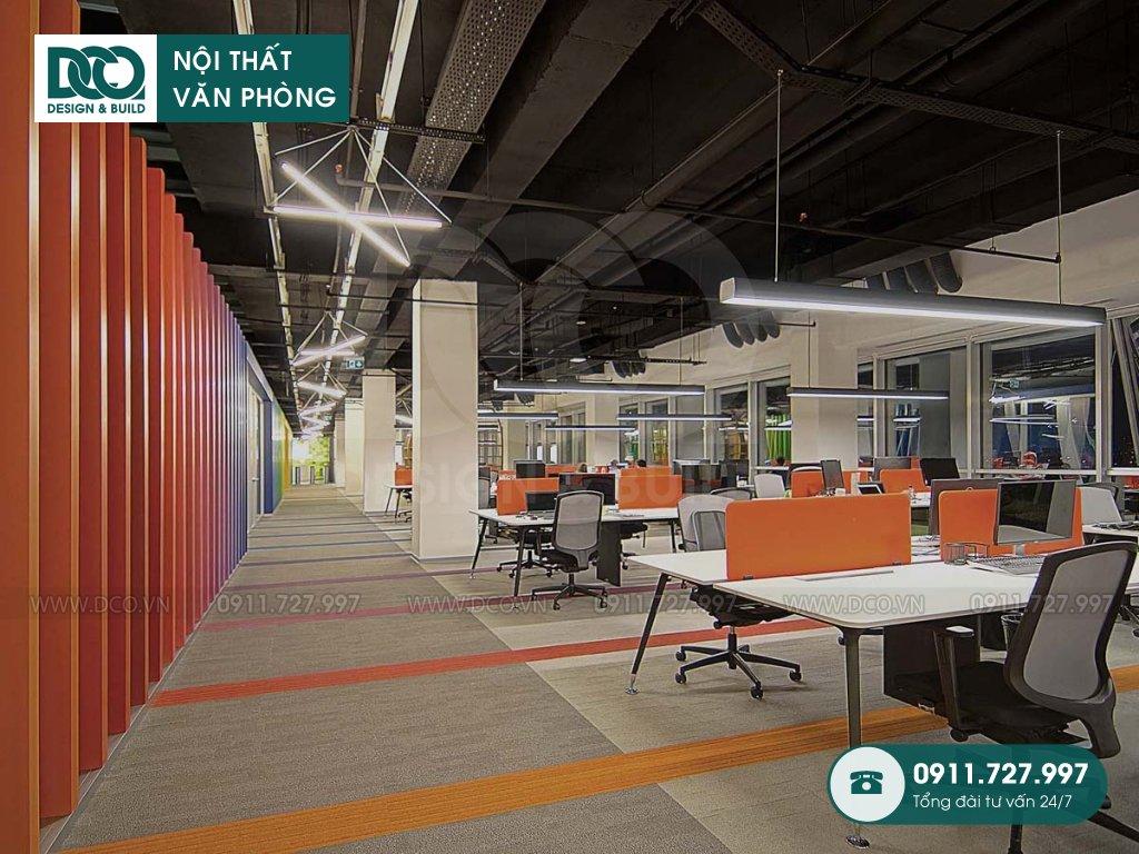 Báo giá cải tạo nội thất không gian làm việc chung Hà Nội