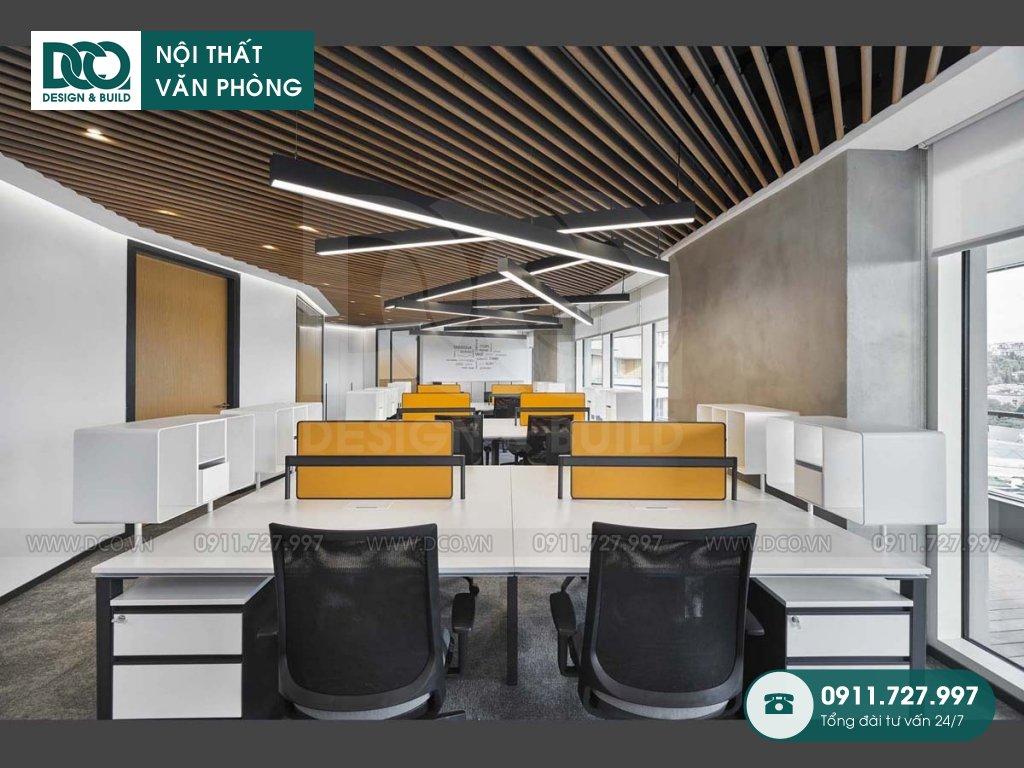 Báo giá thi công nội thất không gian làm việc chung Hà Nội