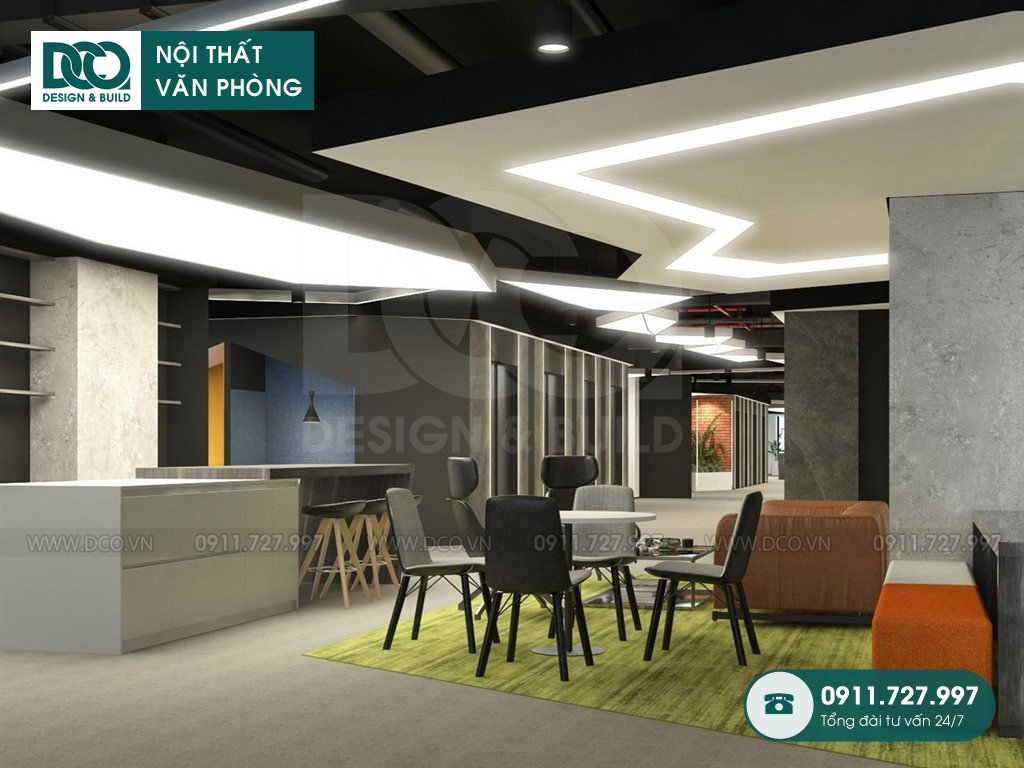 Dịch vụ thi công nội thất văn phòng tại Hòa Nghĩa