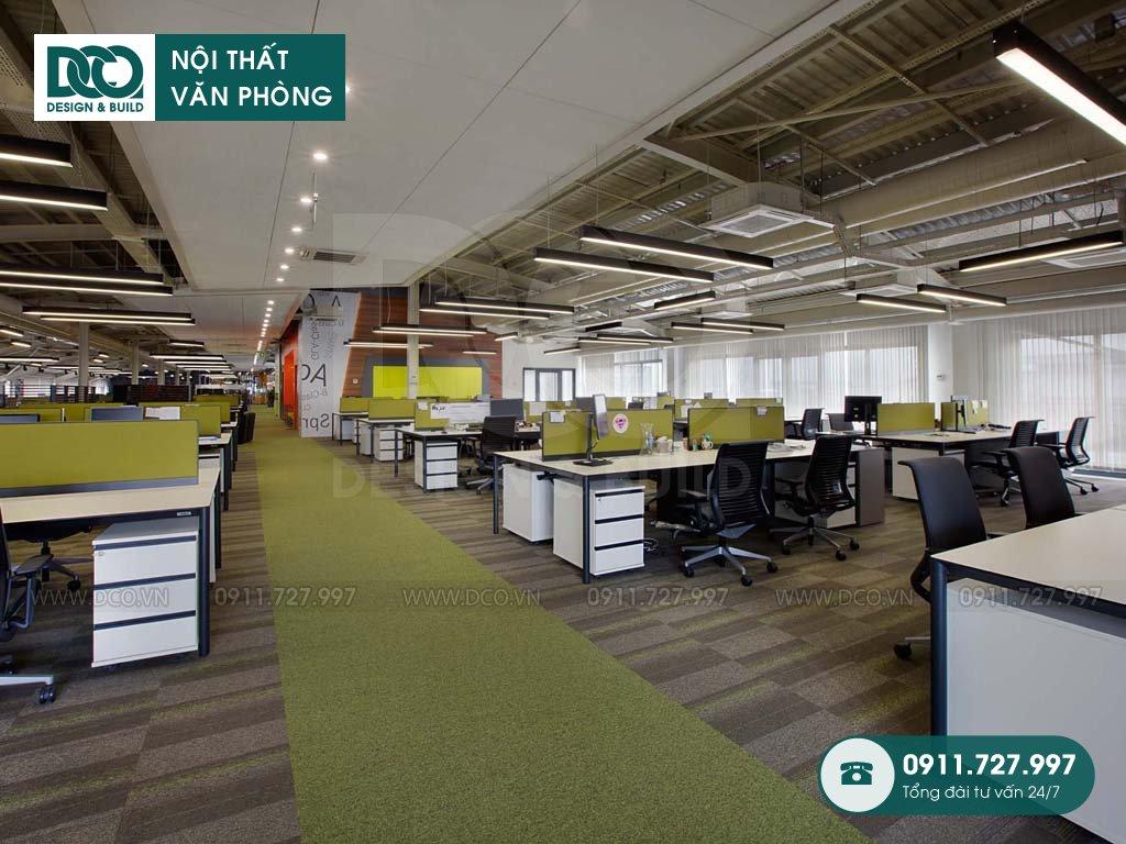 Giá thiết kế nội thất không gian làm việc chung