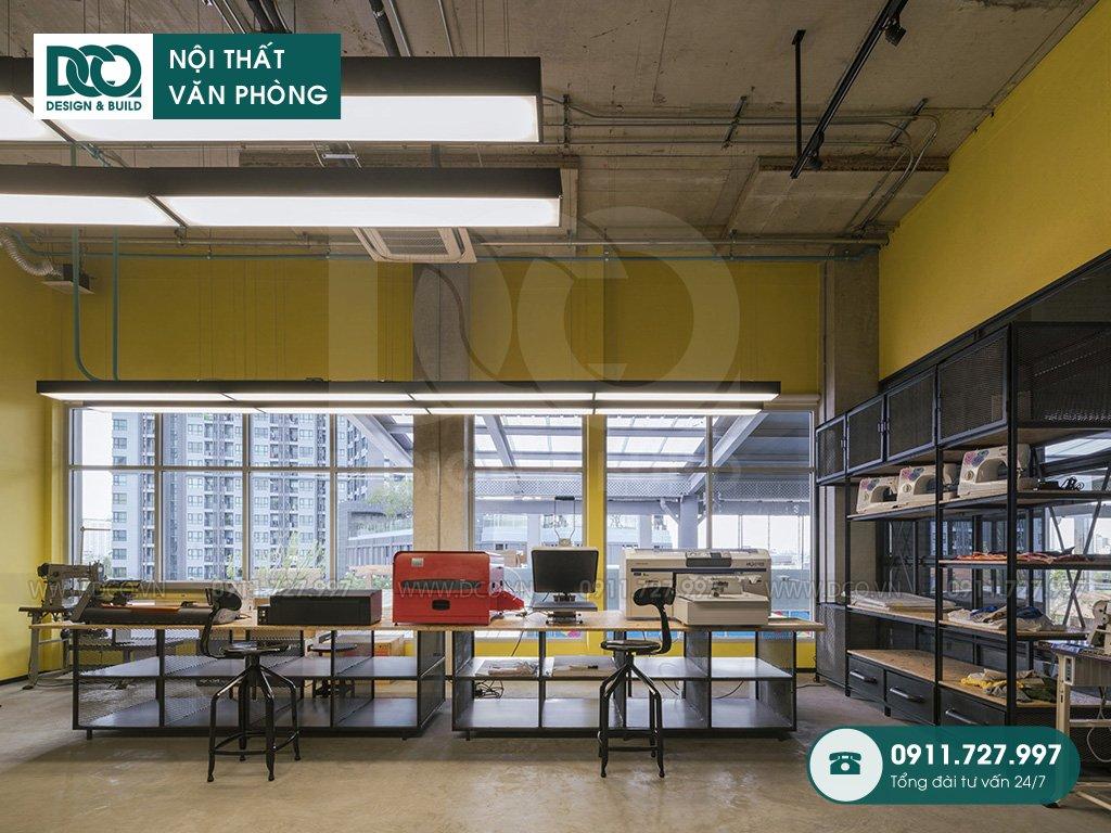 Dịch vụ báo giá thiết kế nội thất không gian làm việc chung