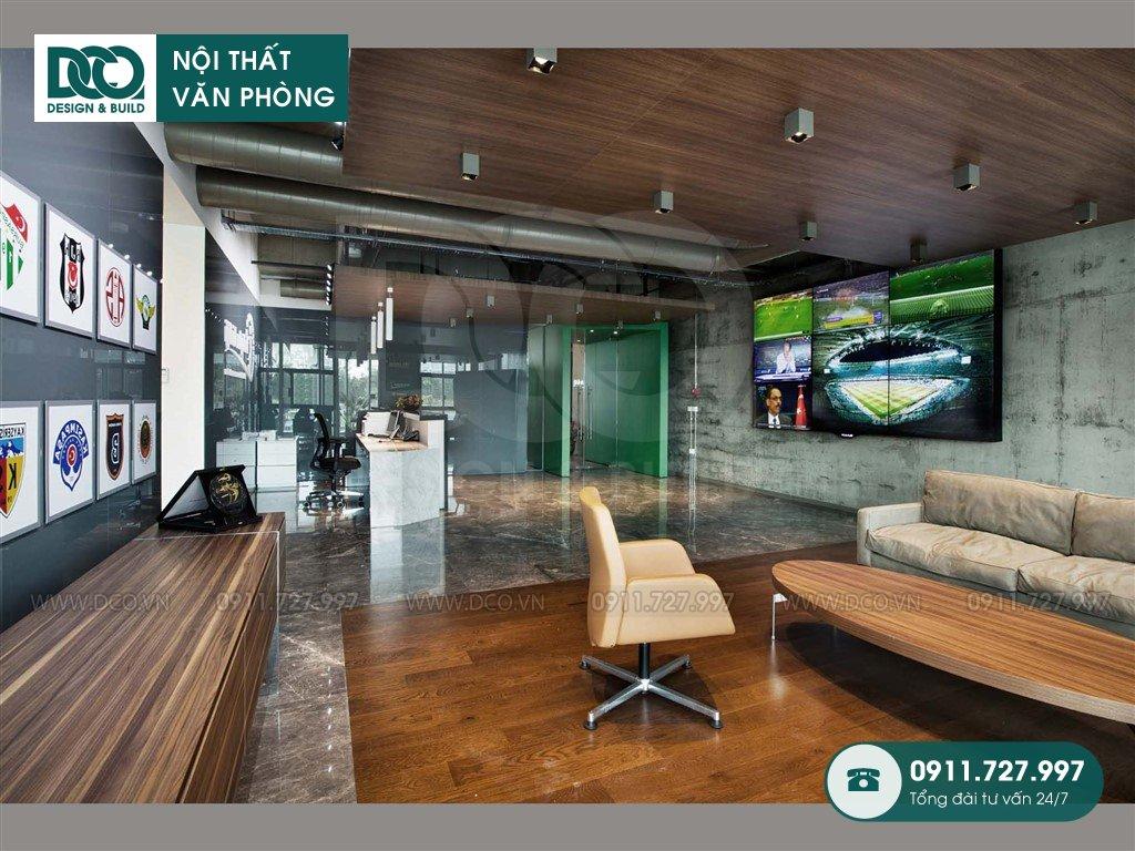 Báo giá thiết kế nội thất khu khách chờ Hà Nội