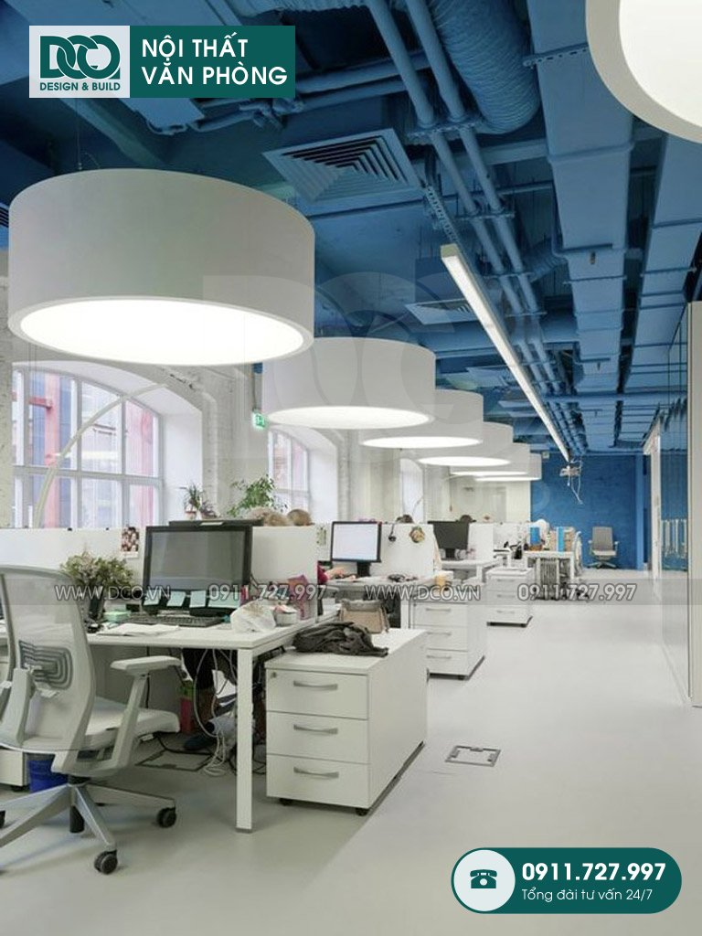 Báo giá thiết kế nội thất khu làm việc chung TP. HCM