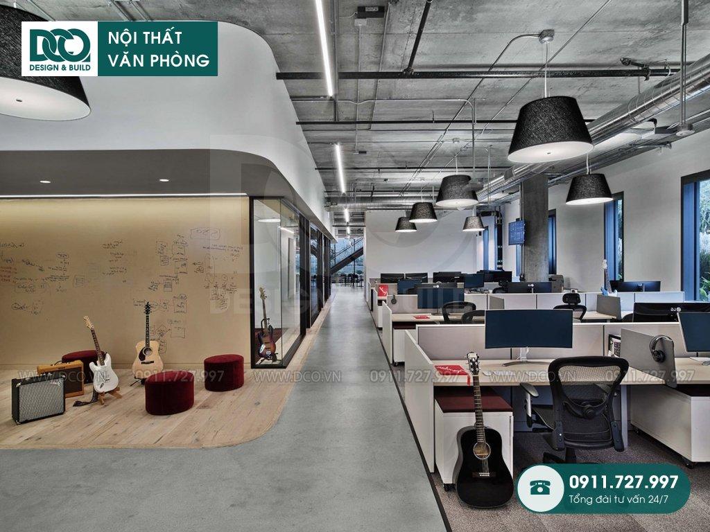 Giá thiết kế nội thất khu làm việc chung