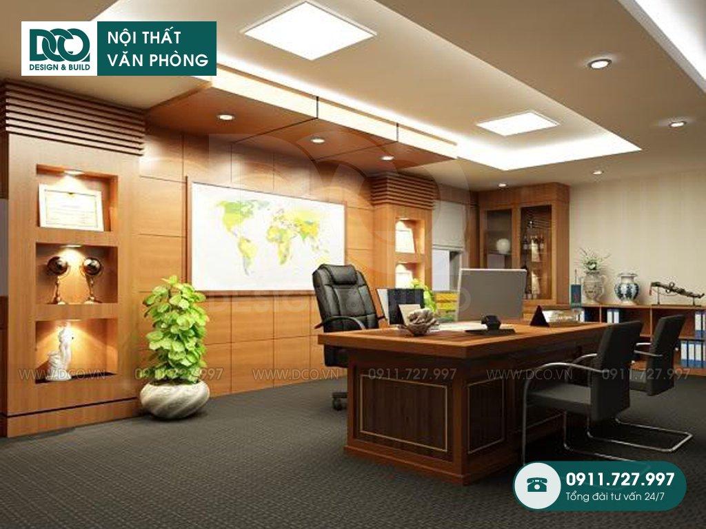 Giá thiết kế nội thất phòng chủ tịch