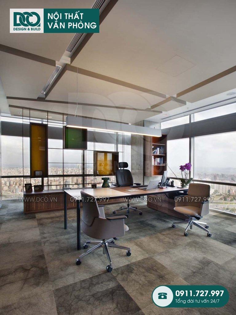 Báo giá thiết kế nội thất phòng chủ tịch