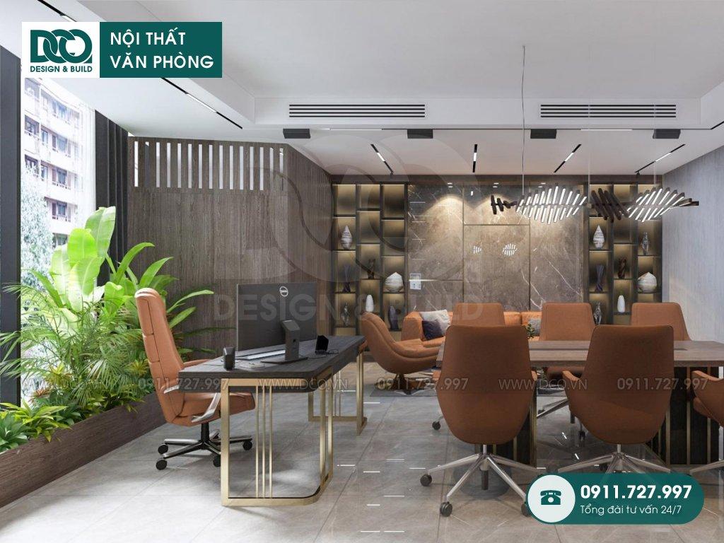Đơn giá thiết kế nội thất phòng phó chủ tịch