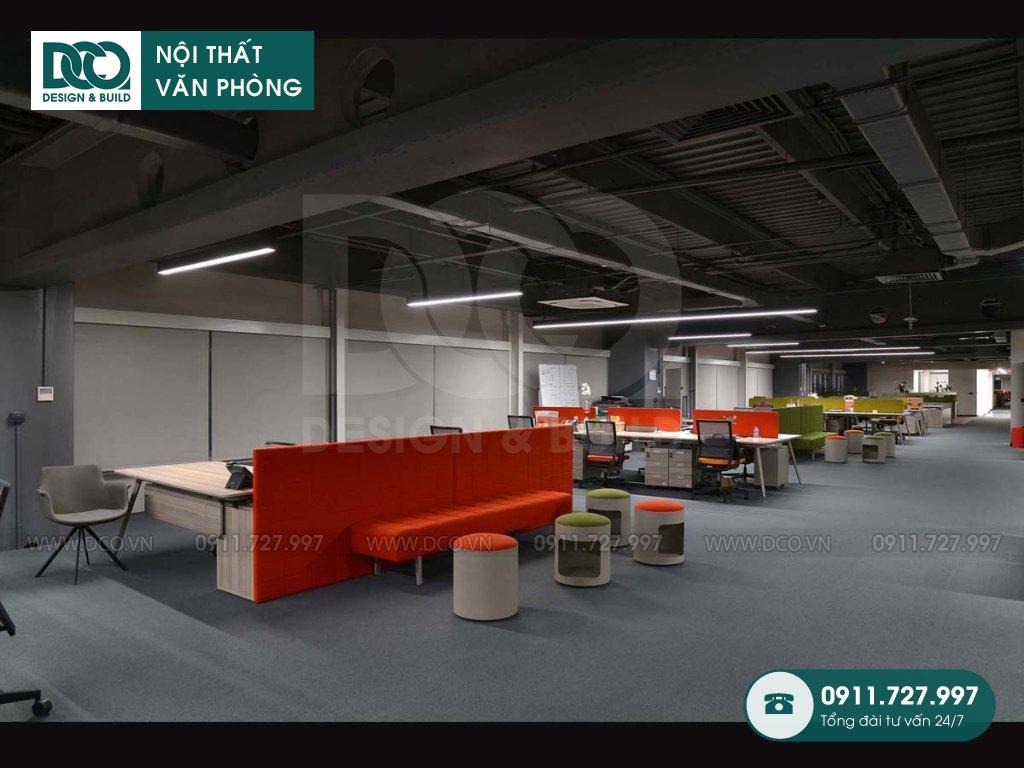 Chi phí cải tạo nội thất không gian làm việc chung Hà Nội