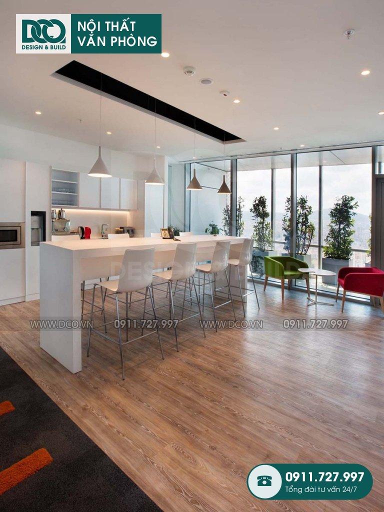 Chi phí cải tạo nội thất khu tiếp đón