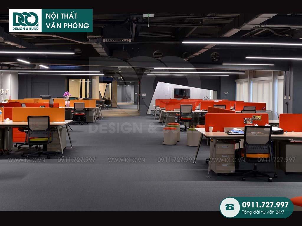 Chi phí sửa chữa nội thất không gian làm việc chung tại Hà Nội