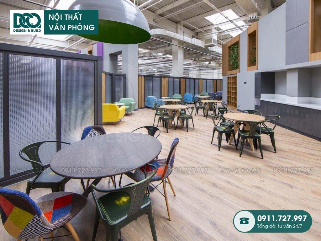 Chi phí thi công nội thất khu tiếp đón tại Hà Nội
