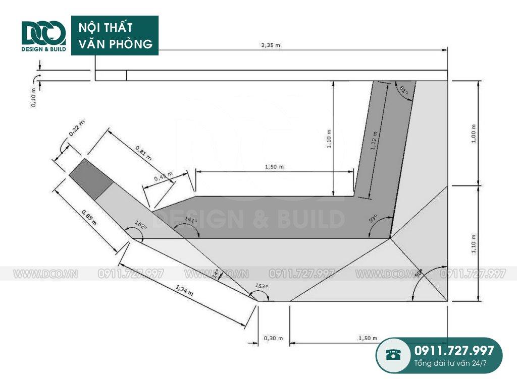 Chi phí thiết kế nội thất lễ tân tại Hà Nội