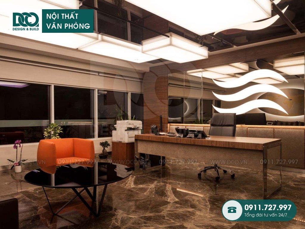 Chi phí thiết kế nội thất phòng phó chủ tịch