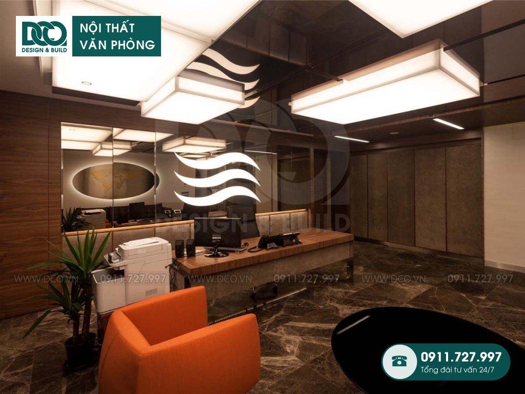 Chi phí thiết kế nội thất phòng phó chủ tịch tại TP. HCM