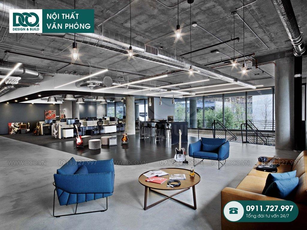 Đơn giá cải tạo nội thất không gian làm việc chung TP. HCM