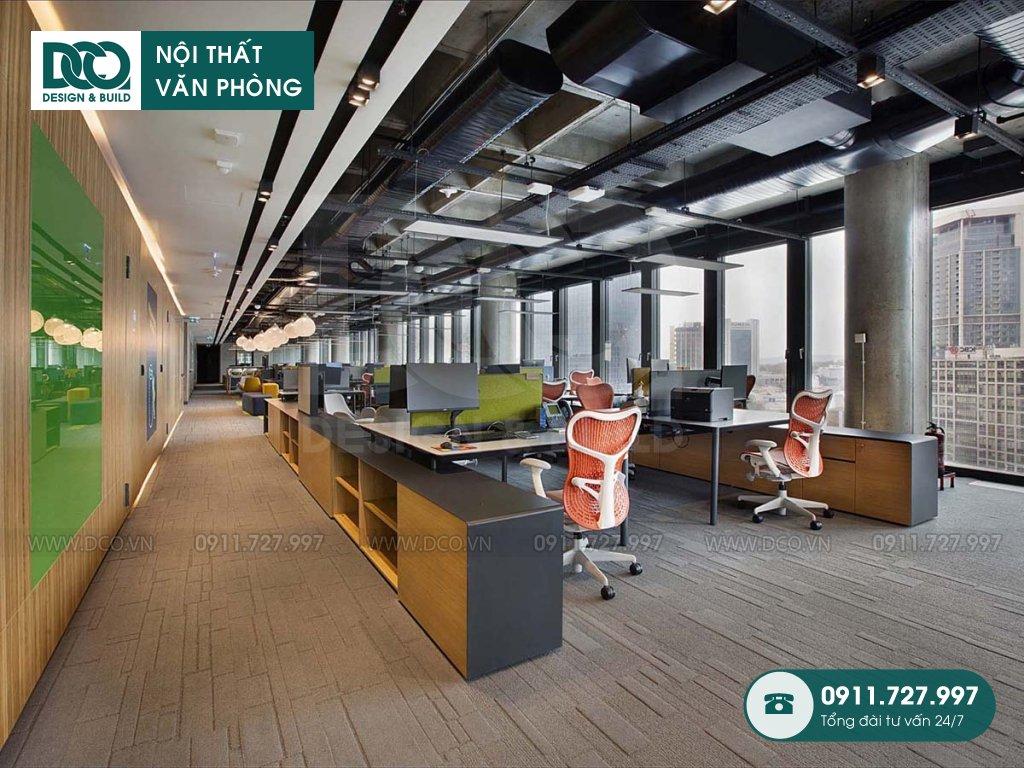 Đơn giá thi công nội thất không gian làm việc chung tại Hà Nội