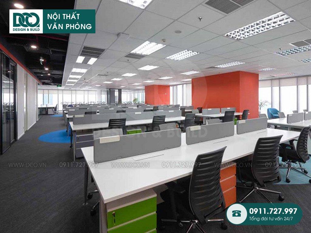 Đơn giá thi công nội thất không gian làm việc chung tại TP. HCM