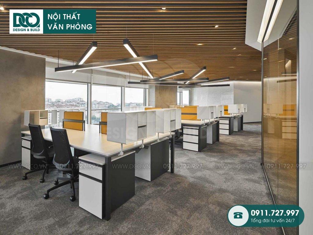 Giá thi công nội thất không gian làm việc chung