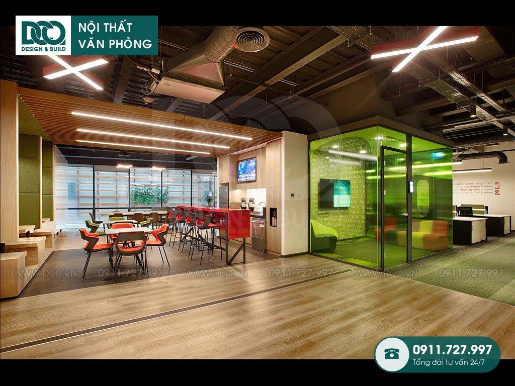 Đơn giá thi công nội thất sảnh Lounge trọn gói