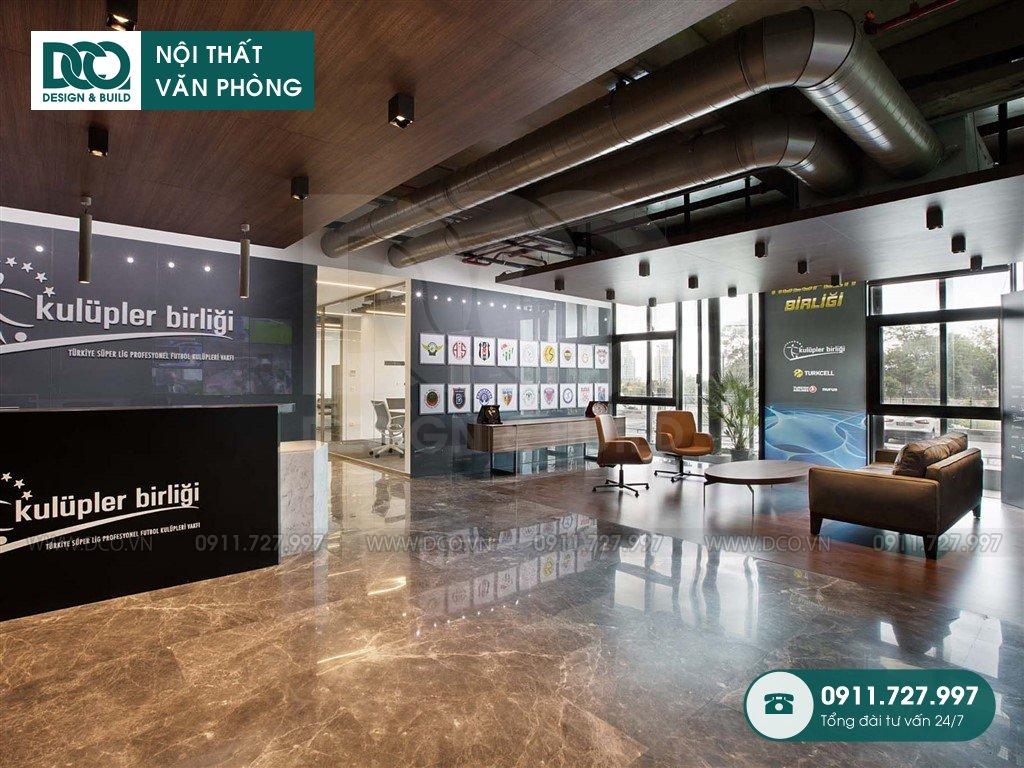 Đơn giá thiết kế nội thất khu khách chờ trọn gói