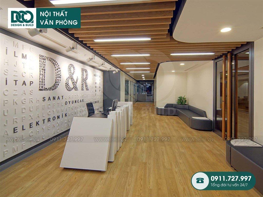 Giá thiết kế nội thất khu khách chờ