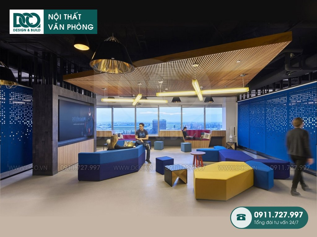 Đơn giá thiết kế nội thất khu tiếp đón tại Hà Nội