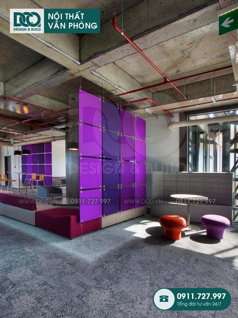 Bảng dự toán cải tạo nội thất không gian làm việc chung