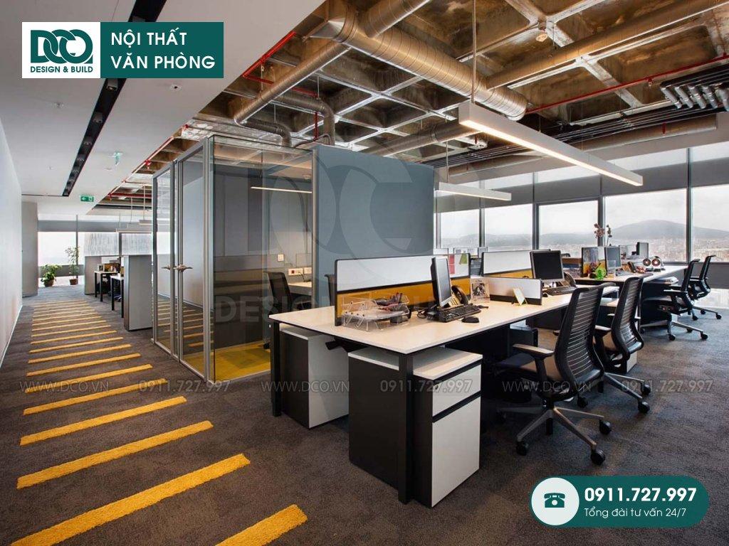 Dự toán cải tạo nội thất không gian làm việc chung TP. HCM