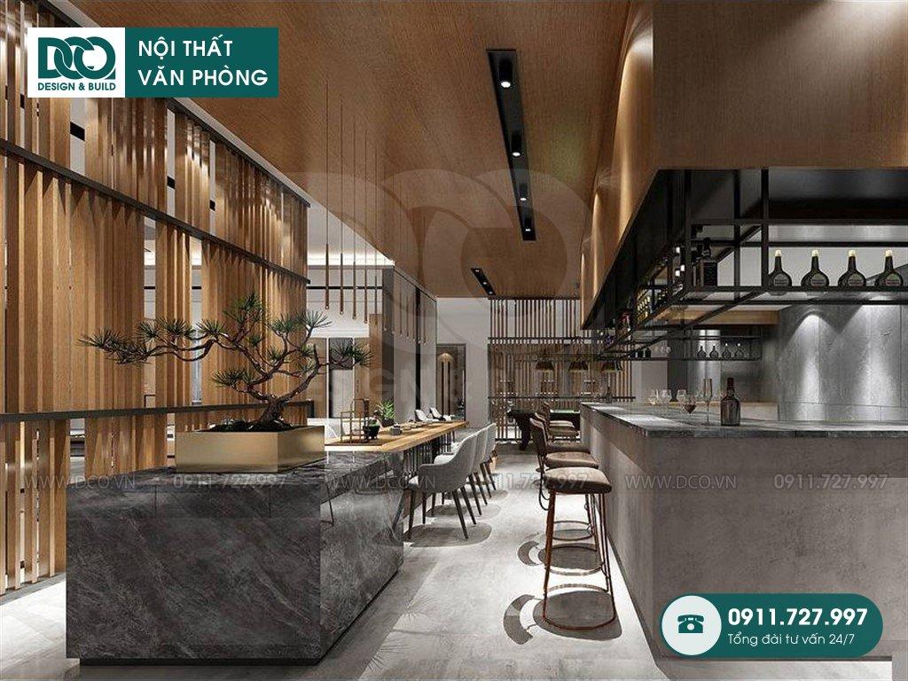 Dự toán cải tạo nội thất sảnh Lounge trọn gói