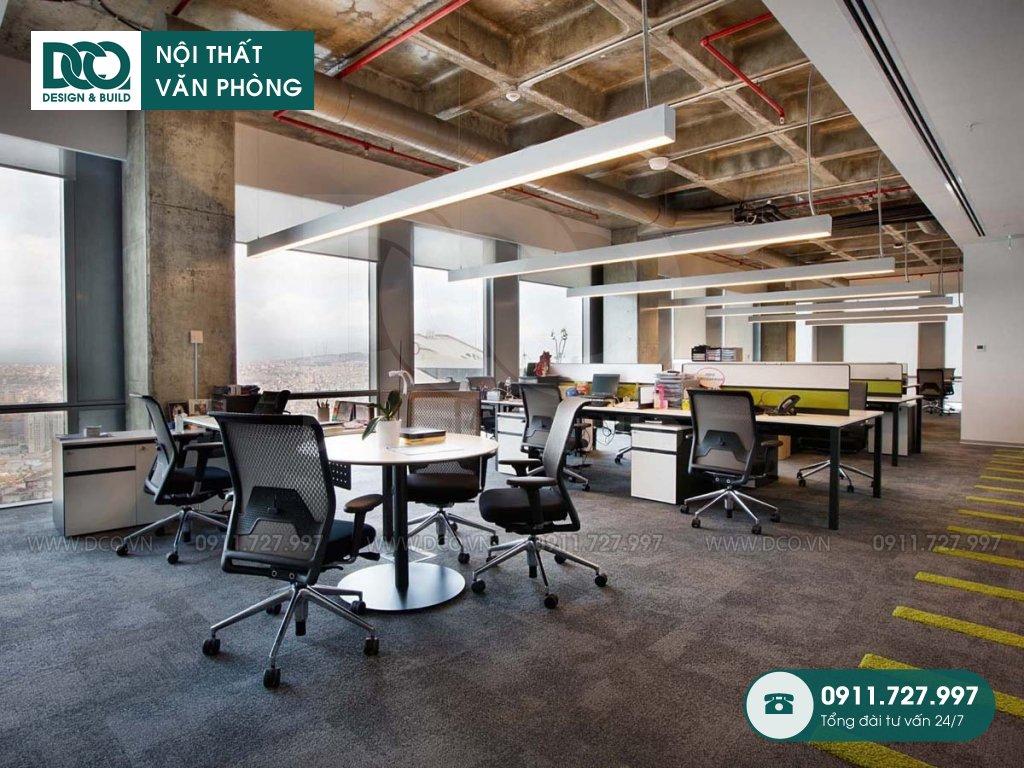 Dịch vụ dự toán thiết kế nội thất không gian làm việc chung