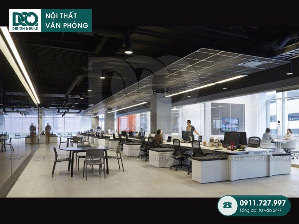 Dự toán thiết kế nội thất không gian làm việc chung Hà Nội