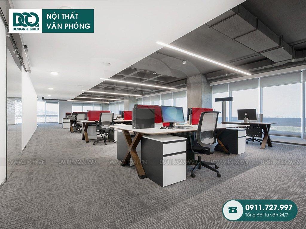 Dự toán thiết kế nội thất không gian làm việc chung trọn gói
