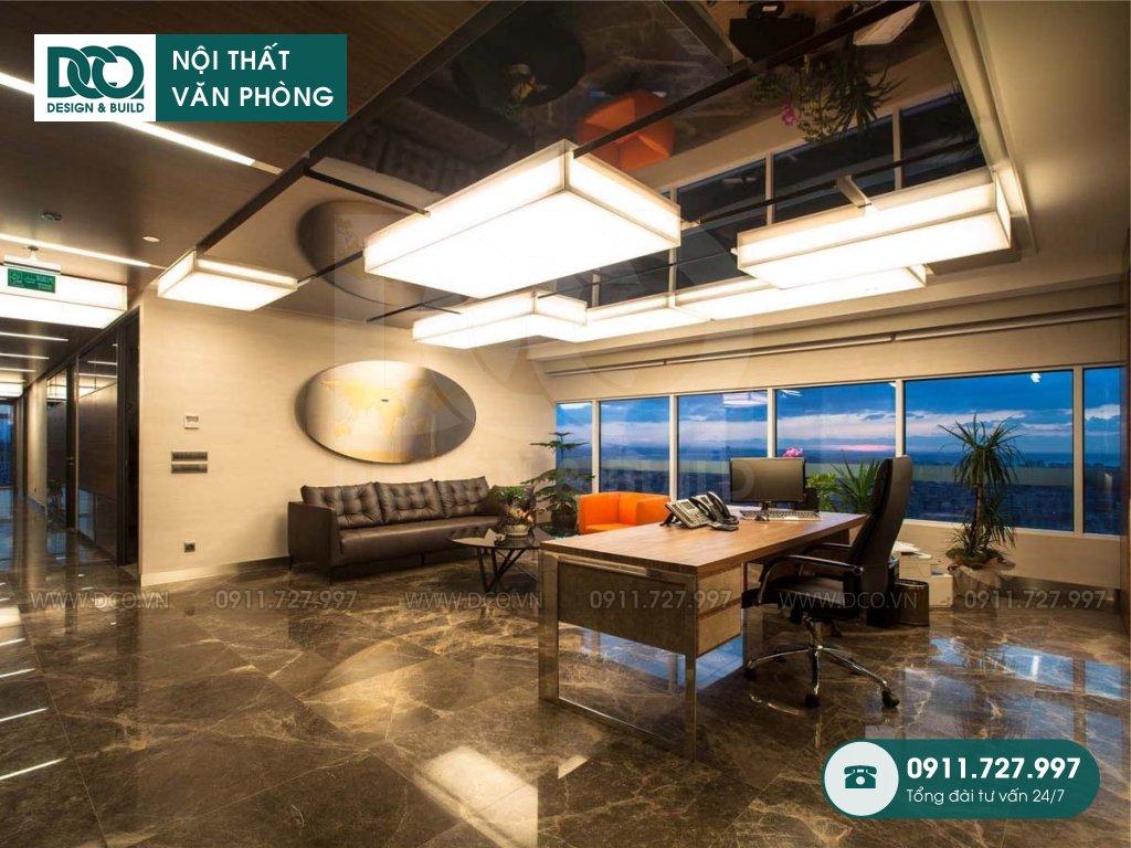 Dự toán thiết kế nội thất phòng chủ tịch Hà Nội
