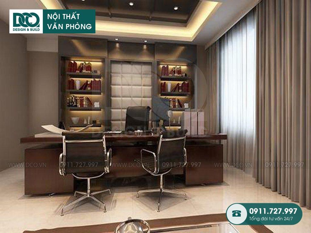 Bảng dự toán thiết kế nội thất phòng chủ tịch